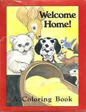 Welcome Home! Your BABY'S Name In A Personalized Childrens Child's Coloring Book