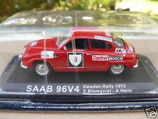 SAAB 96V4 au 1/43ème RALLYE DE SUEDE DE 1972