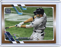 2021 TOPPS SERIES 1 AUSTIN MEADOWS #86 GOLD #ed /2021 TAMPA BAY RAYS