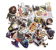 Harry Potter Assorted Skateboard Stickers Lot Of 50 Pieces