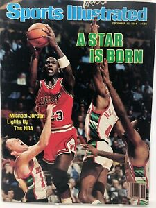 Michael Jordan DEC 10, 1984 Sports Illustrated FIRST PRO COVER Chicago Bulls