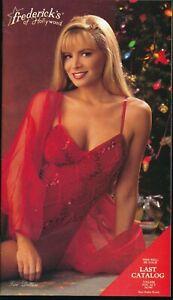FREDERICK'S of HOLLYWOOD 1992 Sexy Lingerie & Apparel Catalog No. 2700 FINE