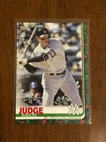 2019 Topps Walmart Holiday Baseball Metallic - Aaron Judge - New York Yankees