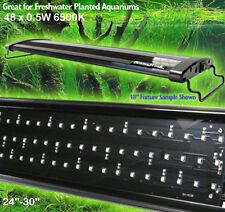 AQUARIUM LED LIGHT PLANTED TANK LED LIGHTING EXTENDABLE 45cm AQUASCAPE DISCOUNT