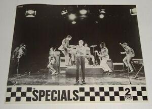 THE SPECIALS 2 TONE / TWO TONE RECORDS original issue PRESS RELEASE PHOTO