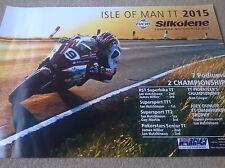ISLE OF MAN TT  MOTOCROSS RACING POSTER HONDA YAMAHA HARLEY TRIUMP KAWASAKI KTM
