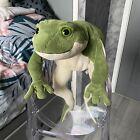 Gund Filmore Rare Large Green Frog Soft Cuddly Plush Toy