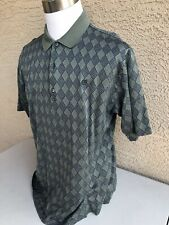Awesome Bobby Jones Collection Made in Italy Golf/Polo Shirt Xl Green B79