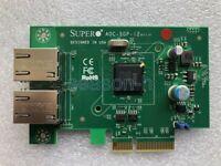SUPER AOC-SGP-i2 intel I350-T2 chip PCI-E dual port network card