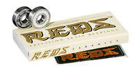 Bones Bearings - Ceramic Super  REDS Bearings ( 8 pack )  608 8mm