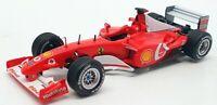 Hot Wheels 1/43 Scale Model Car 0712IR40 - Ferrari F2002 - Red