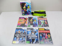 Nintendo Wii Just Dance Bundle 6x Dancing Games Just Dance 1 - 2 Zumba 1 - 2 +++
