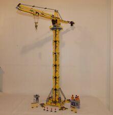 """LEGO   réf  7905    Rehaussée  """"  ++ Grue géante    """"  hauteur   0 mètre 89 ."""