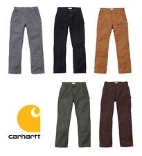 Carhartt Arbeitshose EB136 Bundhose Washed US Double-Front Work Pant 407 Gramm