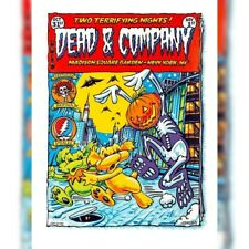 Dead and Company Poster 10/31/2019 show edition