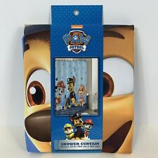 Paw Patrol Shower Curtain 72 X 72 NEW Kids Bathroom Decor
