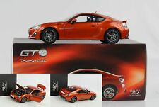 Toyota GT86 2014 orange metallic diecast 1:18 Century Dragon Neu OVP