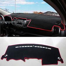 Car Dashboard Dash Mat DashMat Sun Cover Pad Red For Kia Sportage 2011 - 2015