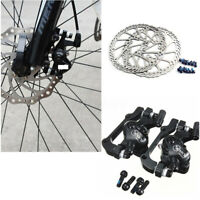 MTB Bike Mechanical Disc Brake Cycling Bicycle Front Rear Set with 160mm