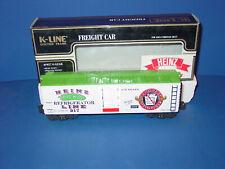 K-LINE - # K 642 - 5201 - HEINZ  PICKLE  REFRIGERATOR  WOOD-SIDED REEFER  CAR