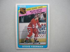 1984/85 O-PEE-CHEE HOCKEY CARD #385 STEVE YZERMAN ROOKIE RB EX/NM NM SHARP!! OPC