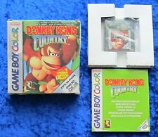 Donkey Kong Country, Nintendo GameBoy Color Spiel, OVP Anleitung