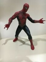 "Vintage SpiderMan The Movie Marvel Spiderman Action Figure 2002 12"" Toy Biz Rare"