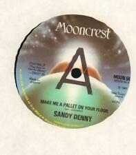"""Sandy Denny(7"""" Vinyl)Make Me A Pallet On Your Floor-Mooncrest-MOON 54-U-M/M"""
