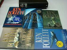 (Follett) Lotto 6 volumi Ken Follett titoli nelle note 2000 Mondadori .