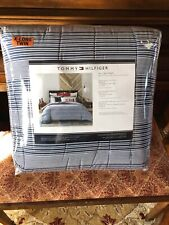 Tommy Hilfiger William Stripe Twin/Twin Xl Comforter Set - New - Free Shipping