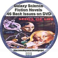 Galaxy Science Fiction Novels Pdf DVD Pulp Fiction Companion to Magazines