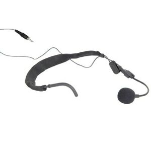 Chord ANM-35 Neckband Microphone Mic for Beltpacks Citronic Qtx Threaded or Pc