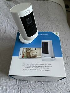 Ring Stick Up Cam Battery Indoor/Outdoor Security Camera 1080HD WiFi TwoWay Talk