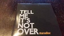 Starsailor Tell me it´s not Over Promo CD