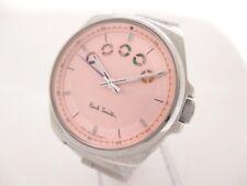 Auth Paul Smith GN-4W-S Silver Pink Women's Wrist Watch S082544