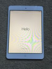 Apple iPad Mini WiFi + Cellular 16GB White And Silver Boxed With Extras