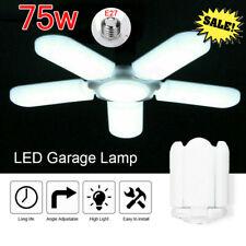 E27 Deformable LED Garage Light Bulb Adjustable Shop 75W Ceiling Lights Lamp US