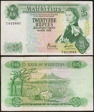 25 RUPEES 1967 ILE MAURICE / MAURITIUS - P32b (A/11 022892)