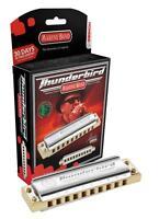 HOHNER Marine Band THUNDERBIRD Harmonica w/ Case, Key LOW F, Germany, M2011L-F