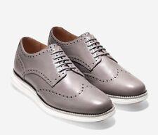 Cole Haan Original Grand Wingtip Oxford Shoes Cloud Burst White SZ 8