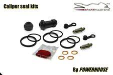 Honda VFR800 VTEC rear brake caliper seal boots rebuild repair kit set 2002 ABS