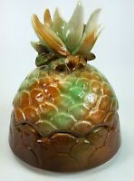 Vintage Ceramic Pineapple Cookie Jar