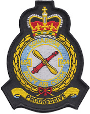 No. 654 Squadron British Army Air Corps AAC Crest Mod Embroidered Patch