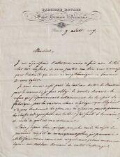 LE CURE DE SAINT-GERMAIN L'AUXERROIS EN 1837 A VICTOR HUGO