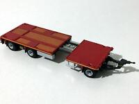 jumbo drawbar trailer 3 axle(extendable) -WSI truck models,04-1143