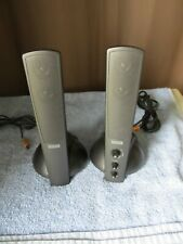 Altec Lansing ATP3 Multimedia Computer Speakers Left & Right Only Fully Tested!