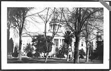 VINTAGE PHOTOGRAPH 1917 HISTORIC COUNTY COURTHOUSE FRESNO CALIFORNIA OLD PHOTO