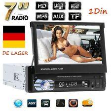 "1DIN Autoradio Mit 7"" Touchscreen Bildschirm Bluetooth USB TF Radio MP5 Player"