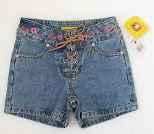 Girls Gasoline Jean Shorts  Sz 8  NWT