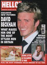 Hello! Magazine April 1 2003 David Beckham Nicole Kidman 062918DBE3